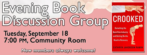 Evening Book Discussion Group