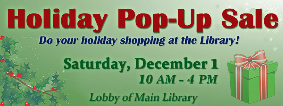Holiday Pop Up Sale